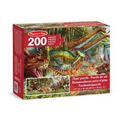 Melissa & Doug Floor Puzzle - Dinosaur World (200pcs)