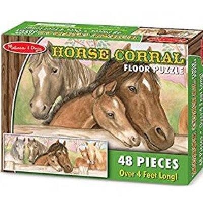 Melissa & Doug Floor Puzzle - Horse & Foal (48pcs)
