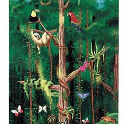 Melissa & Doug Floor Puzzle - Rain Forest (100pcs)