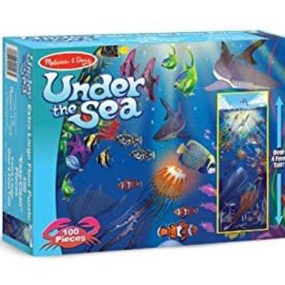 Melissa & Doug Floor Puzzle - Under the Sea (100pcs)