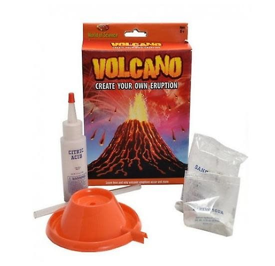 World of Science Create Your Own Volcano - Mini Kit