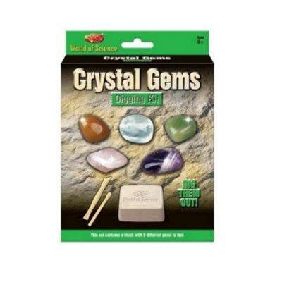 World of Science Crystal Gems Digging Kit