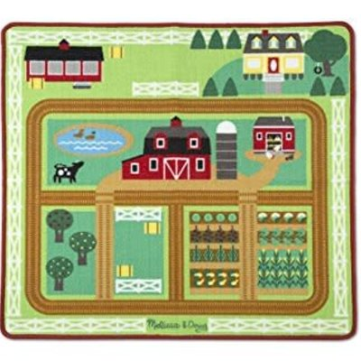 Melissa & Doug Farm Rug with 5 Play Pieces
