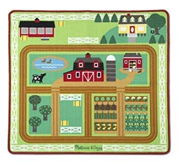 Melissa & Doug Farm Rug with 5 Play Pieces