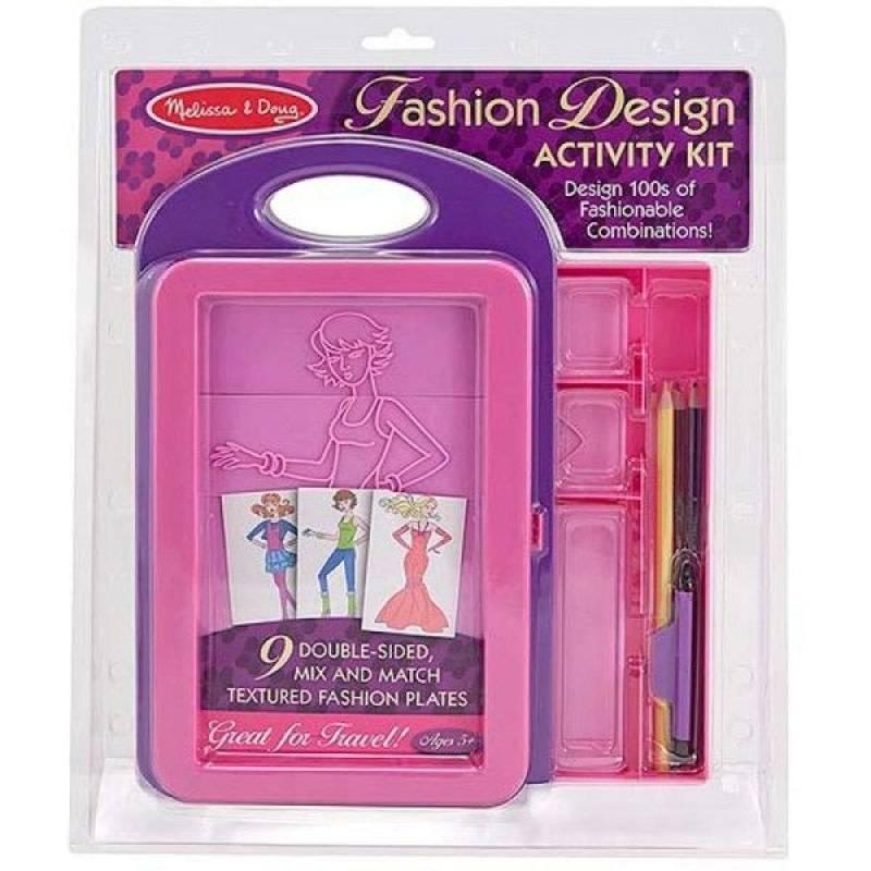 Melissa & Doug Fashion Design Kit - Collection Mode