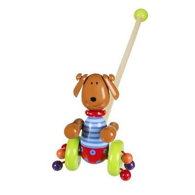 Orange Tree Toys Push Along - Dog