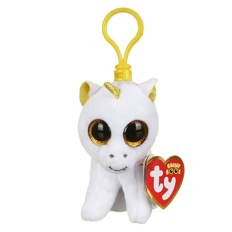22ddcc1bb83 Ty Key Clip - Pegasus the Unicorn - Celebrations and Toys