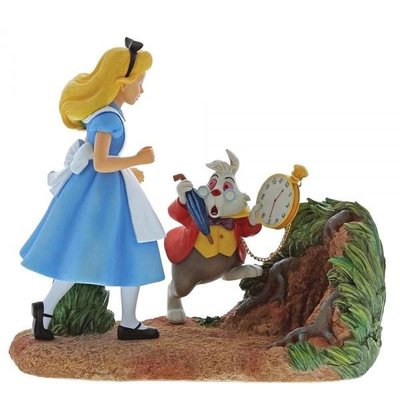 Disney Enchanting Collection Disney  - Alice in Wonderland - Mr Rabbit, Wait!