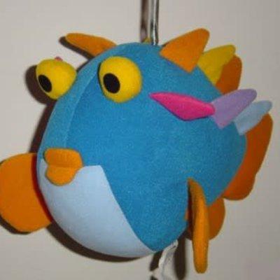 Spring Animal - Blue Blowfish
