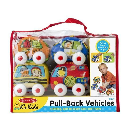 Pull-Back Soft Town Vehicles