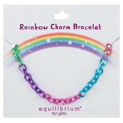 Equilibrium Rainbow Charm Bracelet - Rainbow