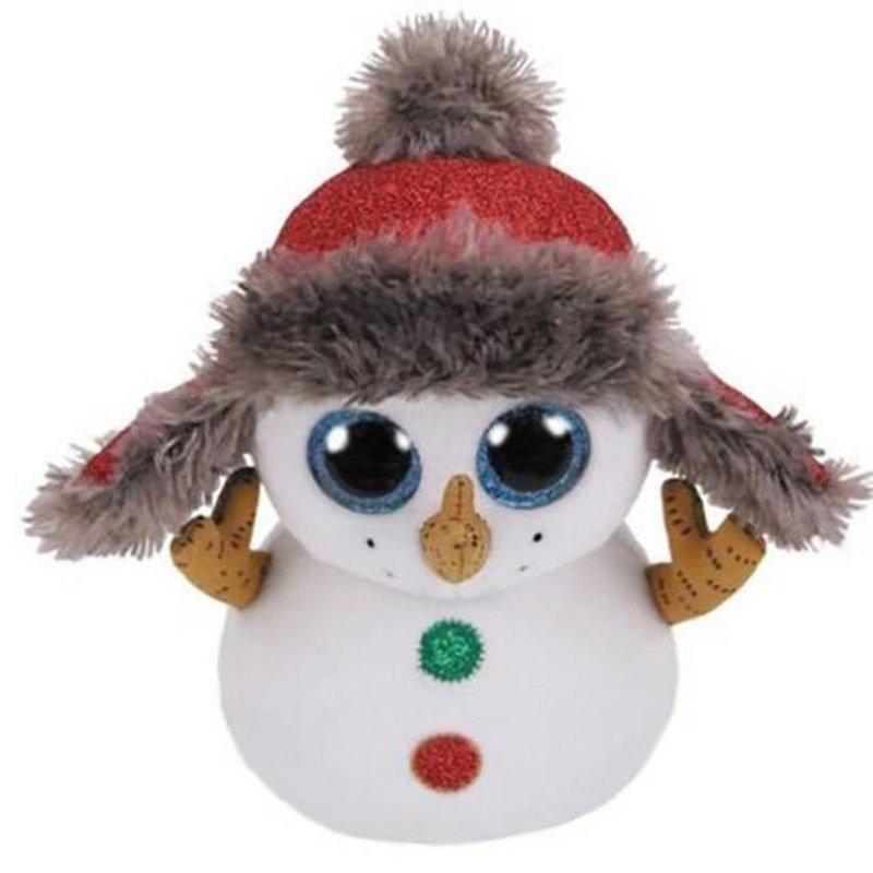 Ty Beanie Boo - Buttons the Snowman Xmas 2018