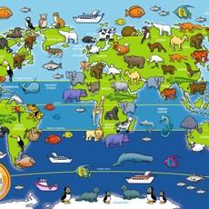 Ravensburger Floor Puzzle - Animals of the World 60pcs