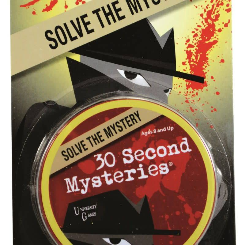 Paul Lamond Games 30 Second Mysteries - Brain Teaser