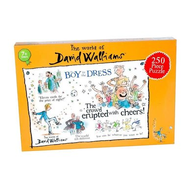 David Walliams 250pcs - David Walliams - The Boy in the Dress Puzzle