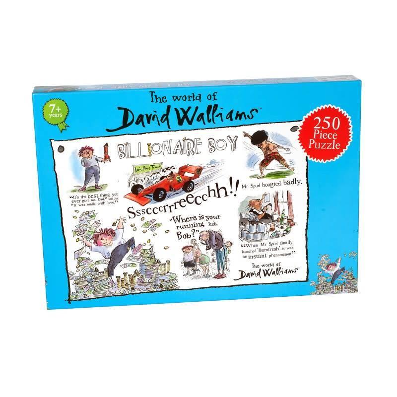 David Walliams David Walliams - Billionaire Boy Puzzle 250pcs