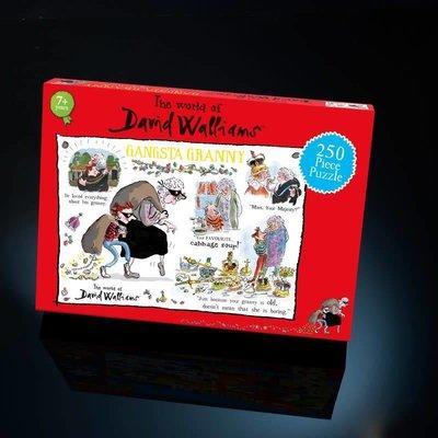David Walliams 250pcs - David Walliams - Gangsta Granny Puzzle