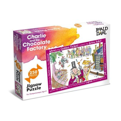Roald Dahl 250pcs - Charlie and the Chocolate Factory Puzzlen- Roald Dahl