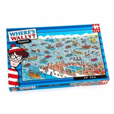 Where's Wally 250pcs - Where's Wally? - At Sea Puzzle