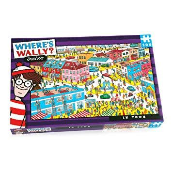 Where's Wally Where's Wally? - In Town Puzzle - 100pcs