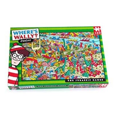 Where's Wally 100pcs - Where's Wally? - The Jurassic Games Puzzle