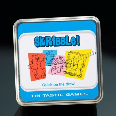 Paul Lamond Games Tin-Tanstic Games - Skribble!