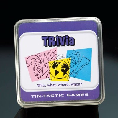Paul Lamond Games Tin-Tanstic Games - Trivia