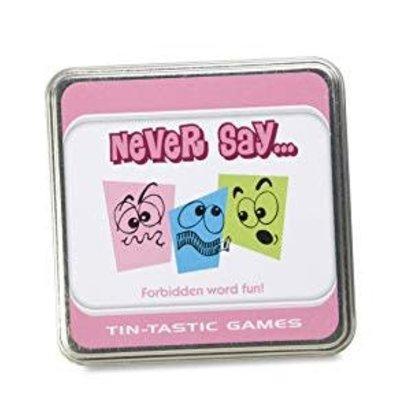 Paul Lamond Games Tin-Tanstic Games - Never Say...