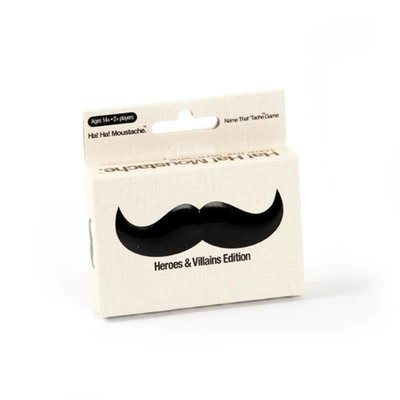 Paul Lamond Games Ha! Ha! Moustache Game - Heroes & Villains Edition