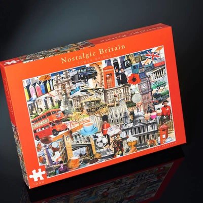 Paul Lamond Games 1000pcs - Nostalgic Britain - Tower Bridge Puzzle