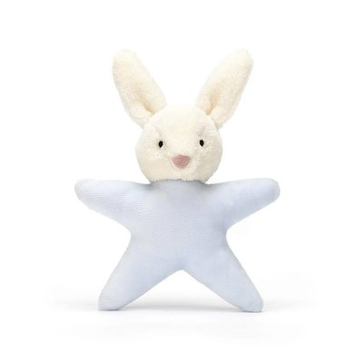 Jellycat - Baby Gift Jellycat - Star Bunny Blue - Rattle