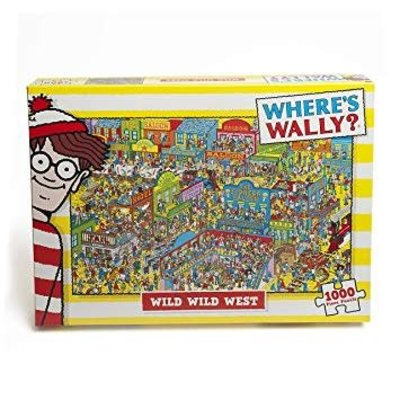 Where's Wally 1000pcs - Where's Wally? - The Wild, Wild West Puzzle