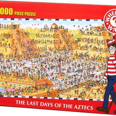 Where's Wally 1000pcs - Where's Wally? - The Last Days of The Aztecs Puzzle