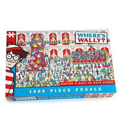 Where's Wally 1000pcs - Where's Wally? - Having a Ball in Gaye Paree Puzzle