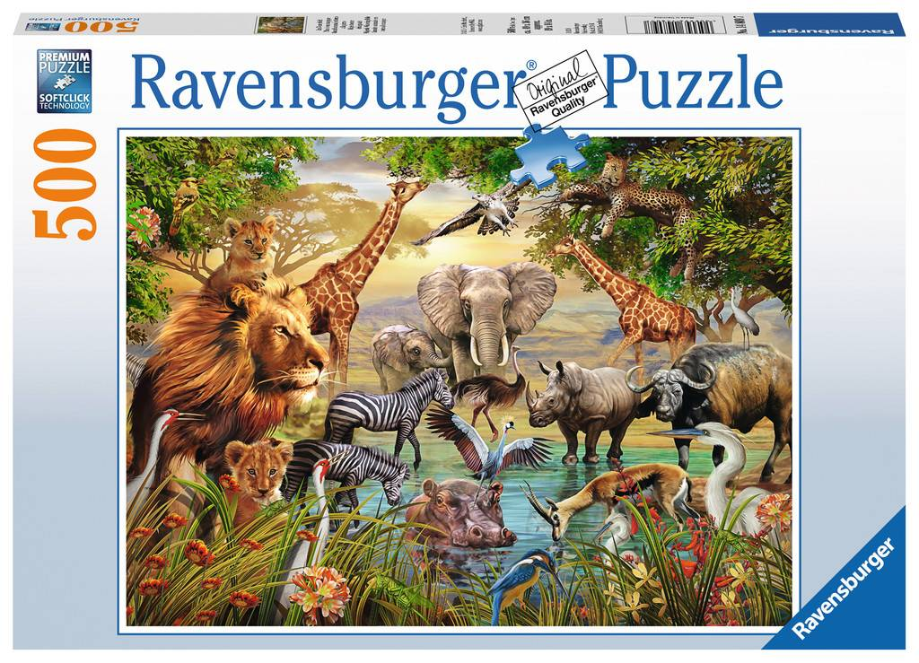 Ravensburger Majestic Watering Hole Puzzle 500pcs
