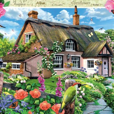 Ravensburger Foxglove Cottage Puzzle 1000pcs