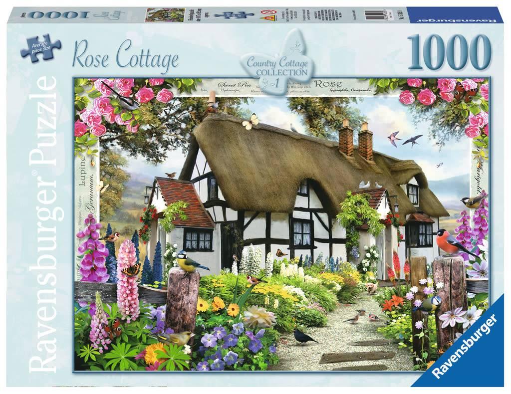 Ravensburger Rose Cottage Puzzle 1000pcs