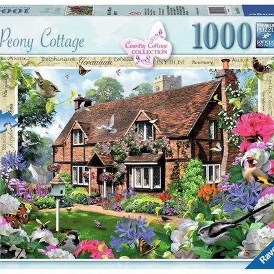 Ravensburger Peony Cottage Puzzle 1000pcs