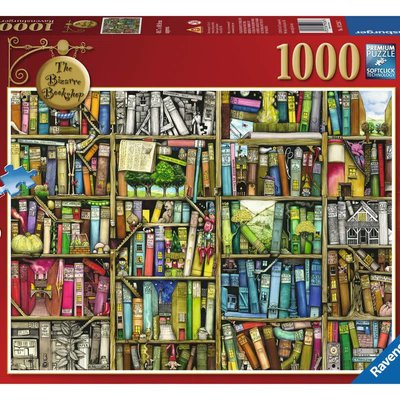 Ravensburger The Bizarre Bookshop Puzzle 1000pcs