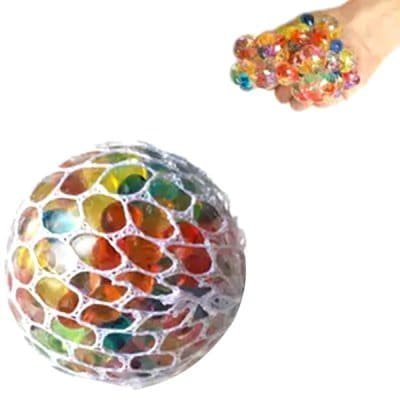 Squishy Ball in Net