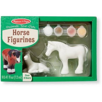 Melissa & Doug Horse Figurines - Craft Kit