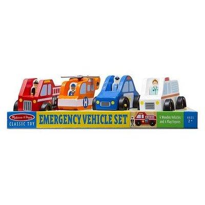 Melissa & Doug Emergency Vehicle Set
