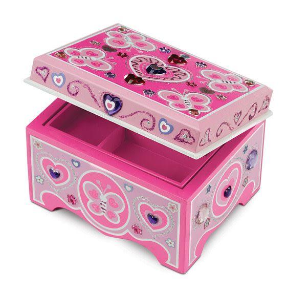 Melissa & Doug Jewellery Box - Decorate Your Own