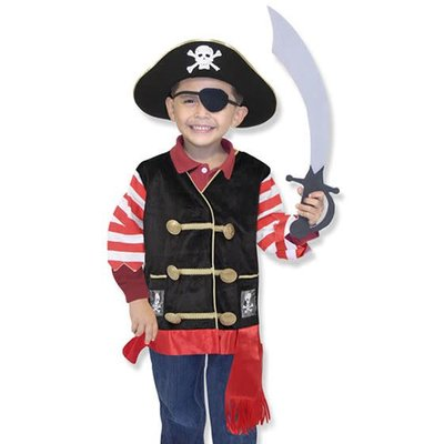 Melissa & Doug Pirate - Costume