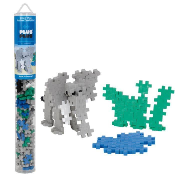 Plus Plus Plus Plus - Elephant Mix 100pcs