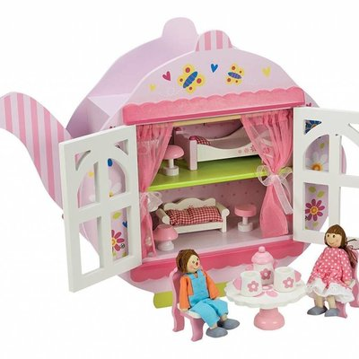 Abgee Wooden Teapot Dolls House