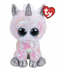 Flippable Sequin Diamond White Unicorn - Beanie Boo 0f24516cb139