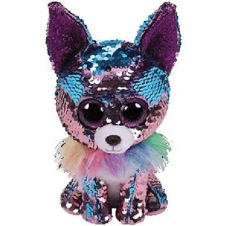 Ty Flippable Sequin Yappy Chihuahua - Beanie Boo Buddy