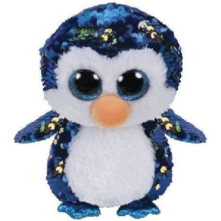 Ty Flippable Sequin Payton Penguin - Beanie Boo