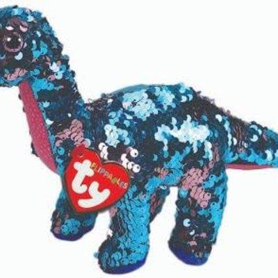 Ty Flippable Sequin Tremor Dinosaur - Beanie Boo